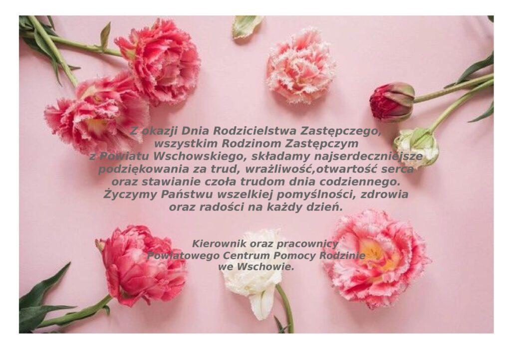 30 maja Dzień Rodzicielstwa Zastępczego